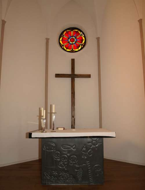 Altar Church Protestant Christian Luther