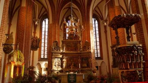 Altar Church Religion Christian Christianity