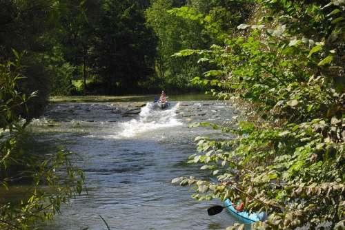 Altmühl Valley Water Slide Canoe Trip Boat Trip