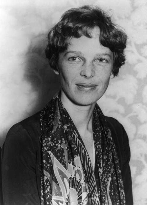 Amelia Earhart Aviation Pioneer Woman Author