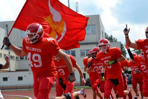 American Football Team Hellboys Czech Budejovice