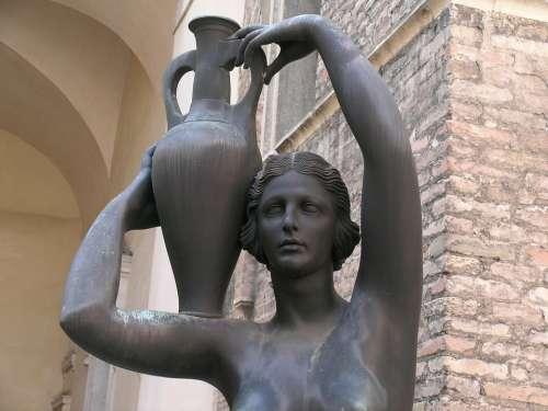Amphora Statue Sculpture Padova