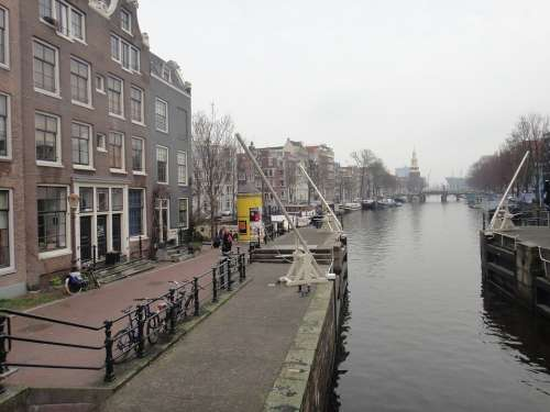 Amsterdam Canals Channel Water