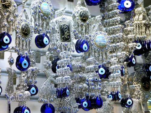 Amulet Evil Eyes Turkey Blue Charm Souvenir