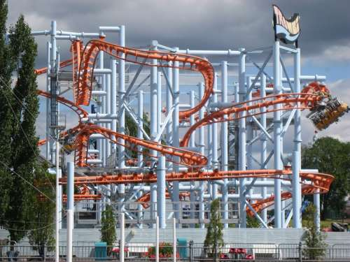 Amusement Park Tampere Särkänniemi Thrombus