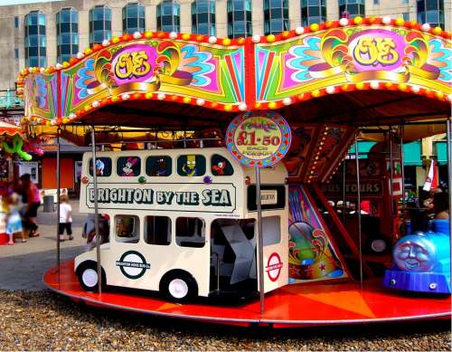 Amusements Attraction Entertainment Ride Carousel