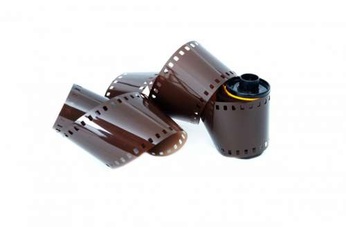 Analog Background Black Camera Cinema