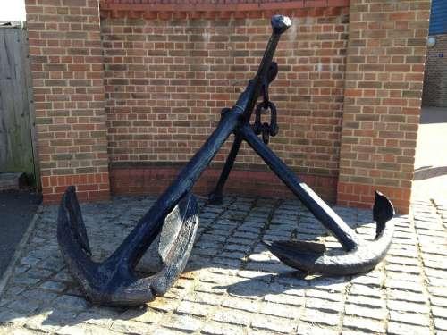 Anchor Ship Anchor Antique History Metal