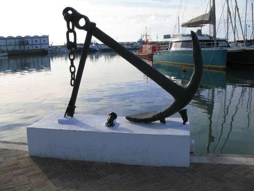 Anchor Boat Port Sailing