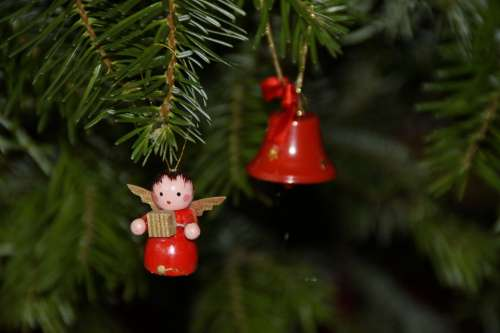 Angel Christmas Tree Decorations Fir Tree