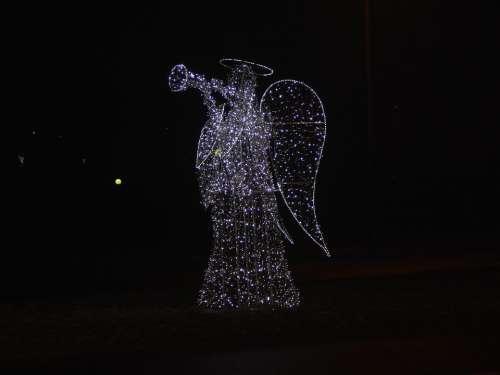 Angel Ornament Light