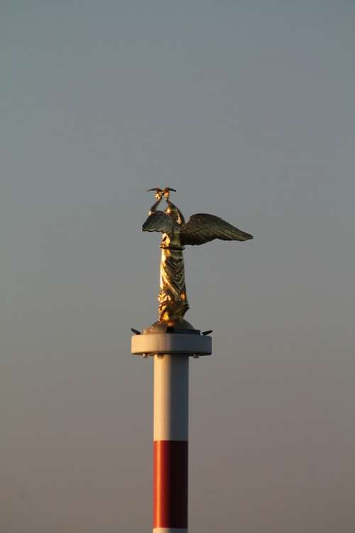 Angel Statue Port