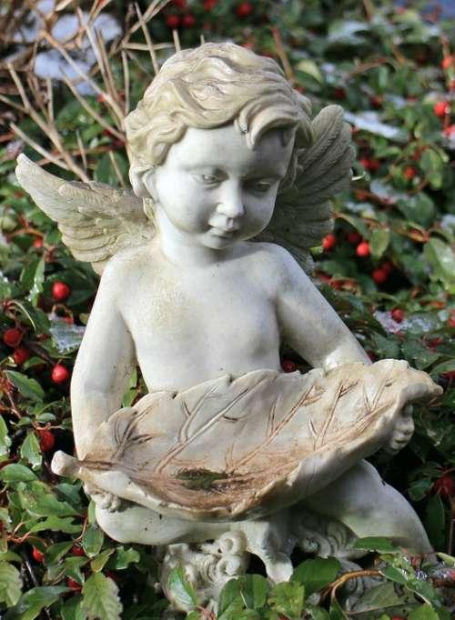 Angel Sculpture Figure Symbol Angel Figure