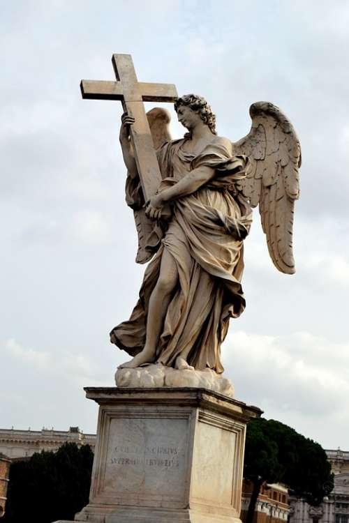 Angel Italy Cross