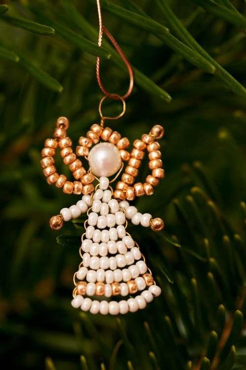 Angel Branch Celebration Christmas Decoration