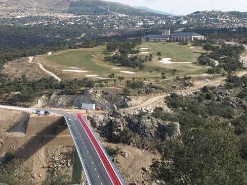 Angeles De San Rafael Golf Monument Bridge Segovia