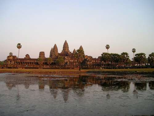 Angkor Wat Cambodia Temple Southeast Asia So