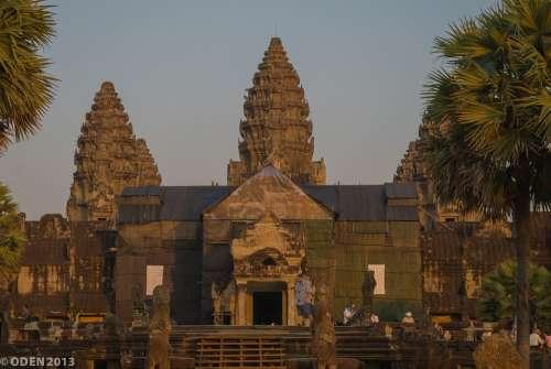 Angkor Wat Siem Reap Cambodia Nice Unesco Site