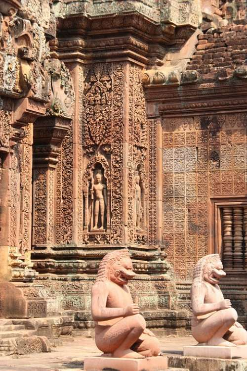 Angkor Wat Temple Cambodia Banteay Srei