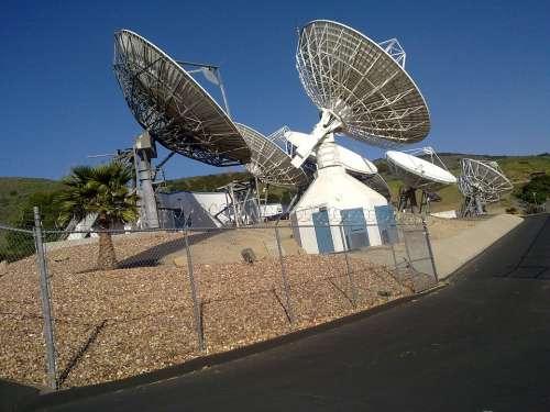 Antenna Ground Station Satelit