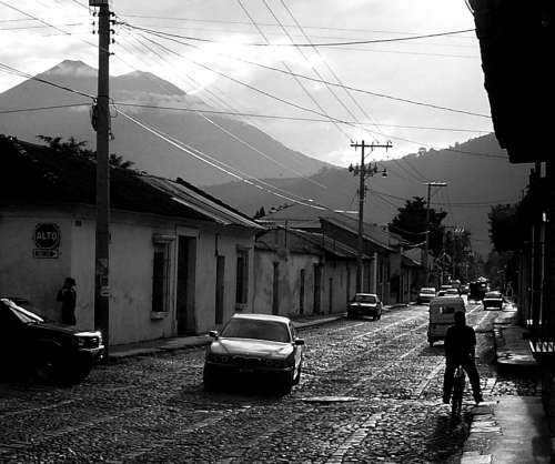 Antigua Guatemala Central America Travel Street