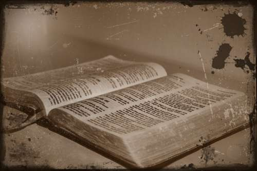 Antique Bible Faith The Bible Christianity Jesus