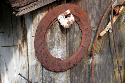 Antique Metal Old Rusty Things Time Household