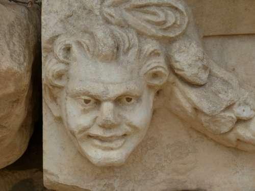 Aphrodisias Antique Antiquity Temple Sculptor