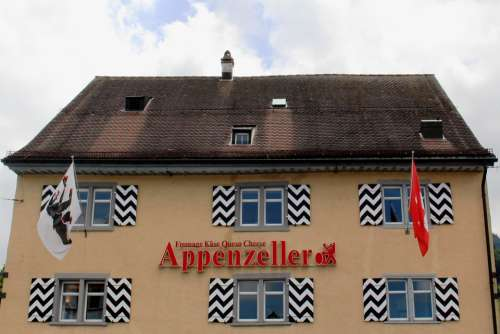 Appenzell Architecture Facade Shutters Roof Design