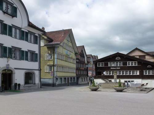 Appenzell Switzerland Innerrhoden House