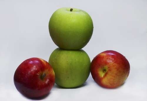 Apples Fruit Food Healthy Organic Fresh Natural