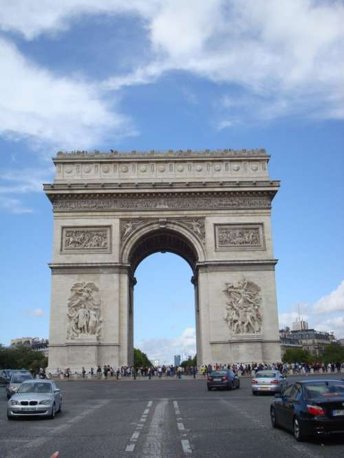 Arc De Triomphe Arc Paris
