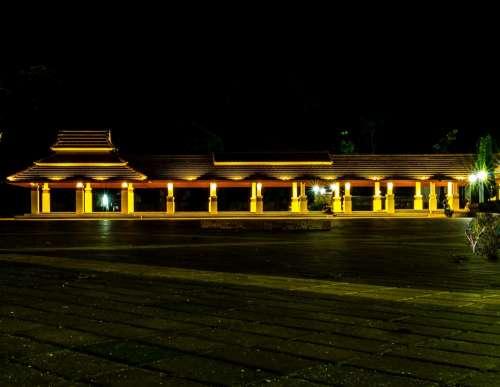 Arcade Temple Building Architecture