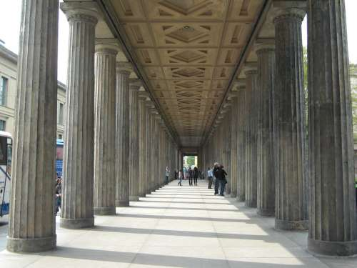 Arcade Berlin Museum Capital History Building