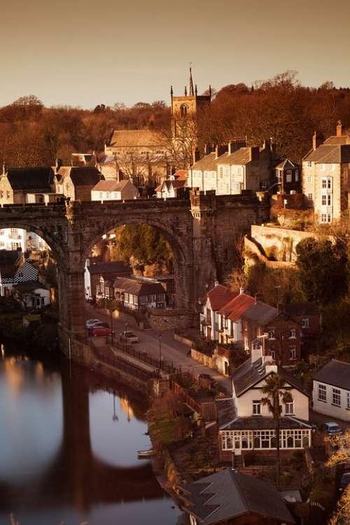 Arch Architecture Bridge Britain England Historic