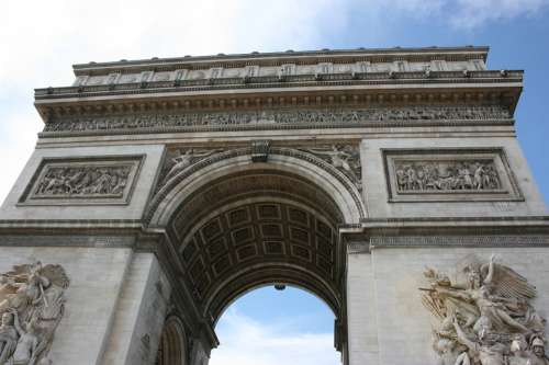 Arch Of Triumph Paris France