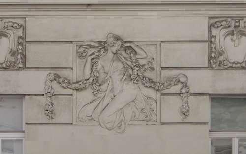 Architecture Art Nouveau Vienna Stucco