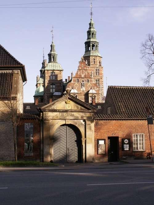 Architecture Building Copenhagen Rosenburg