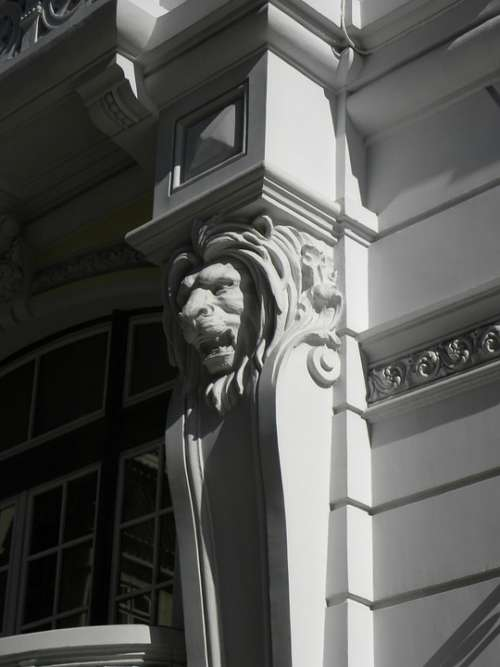 Architecture Window Structure Building Pilasters