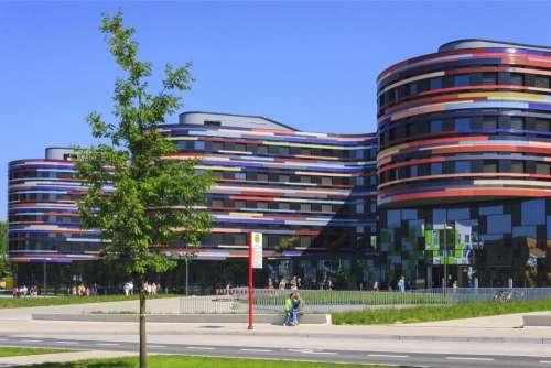 Architecture House Building Modern Germany Hamburg