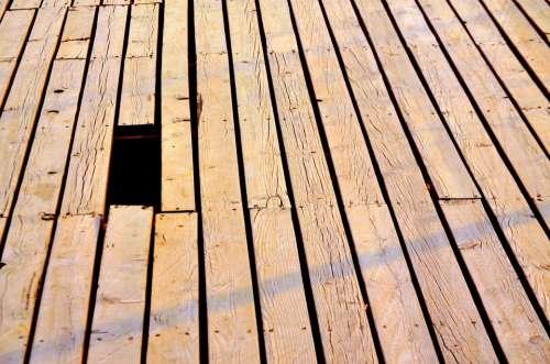 Architecture Boardwalk Plank Wood Slat Slats