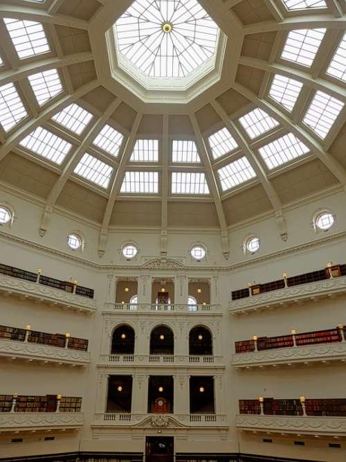 Architecture Dome Library Basilica Building