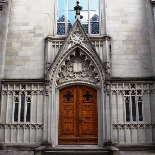 Architecture Church Basilica Portal St Laurenzen