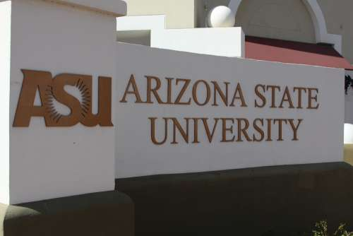 Arizona State University Asu Sign College