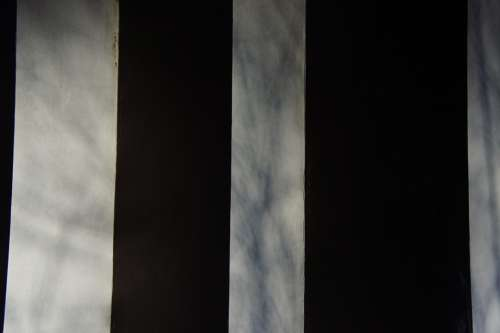 Art Artwork Metal Black And White Stripes Modern