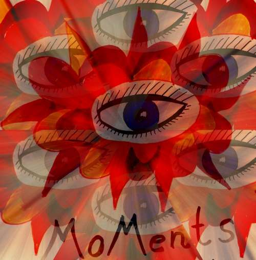Art Colorful Digital Eye Painting Image