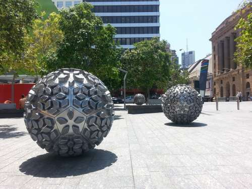 Art Ball Brisbane Tourism City Travel Queensland