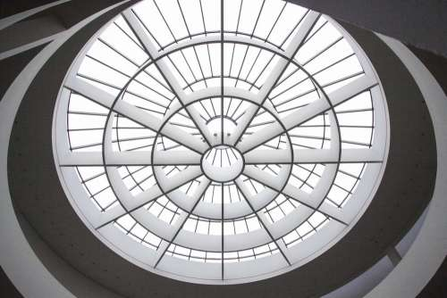 Art Gallery Dome Light Architecture Entrance Hall