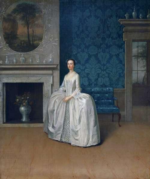 Arthur Devis Art Painting Oil On Canvas Artistic