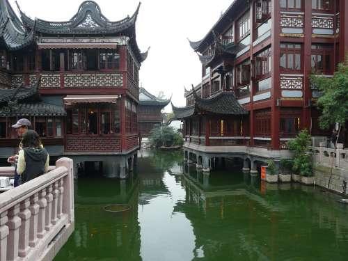 Asia China Shanghai Historic Center Building